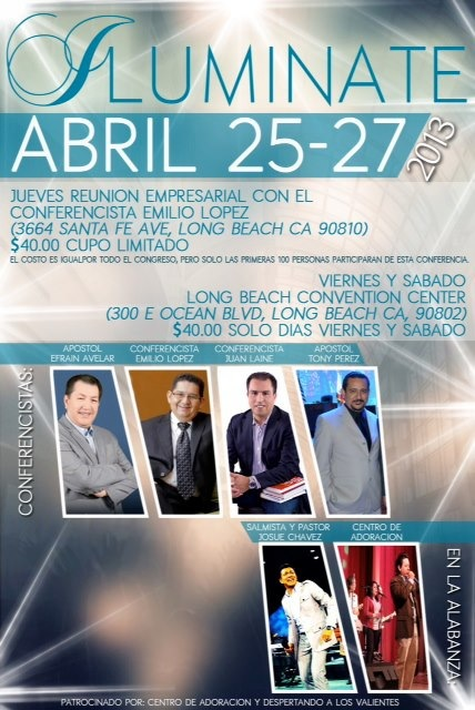 Congreso Iluminate Long Beach